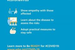 Be kind to address fear during #Coronavirus