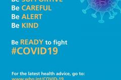 Be ready to fight #Covid19